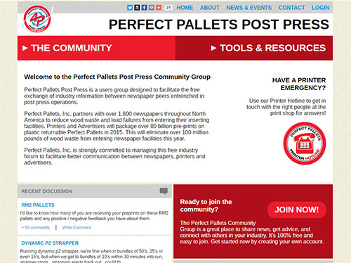 Perfect Pallets Post Press